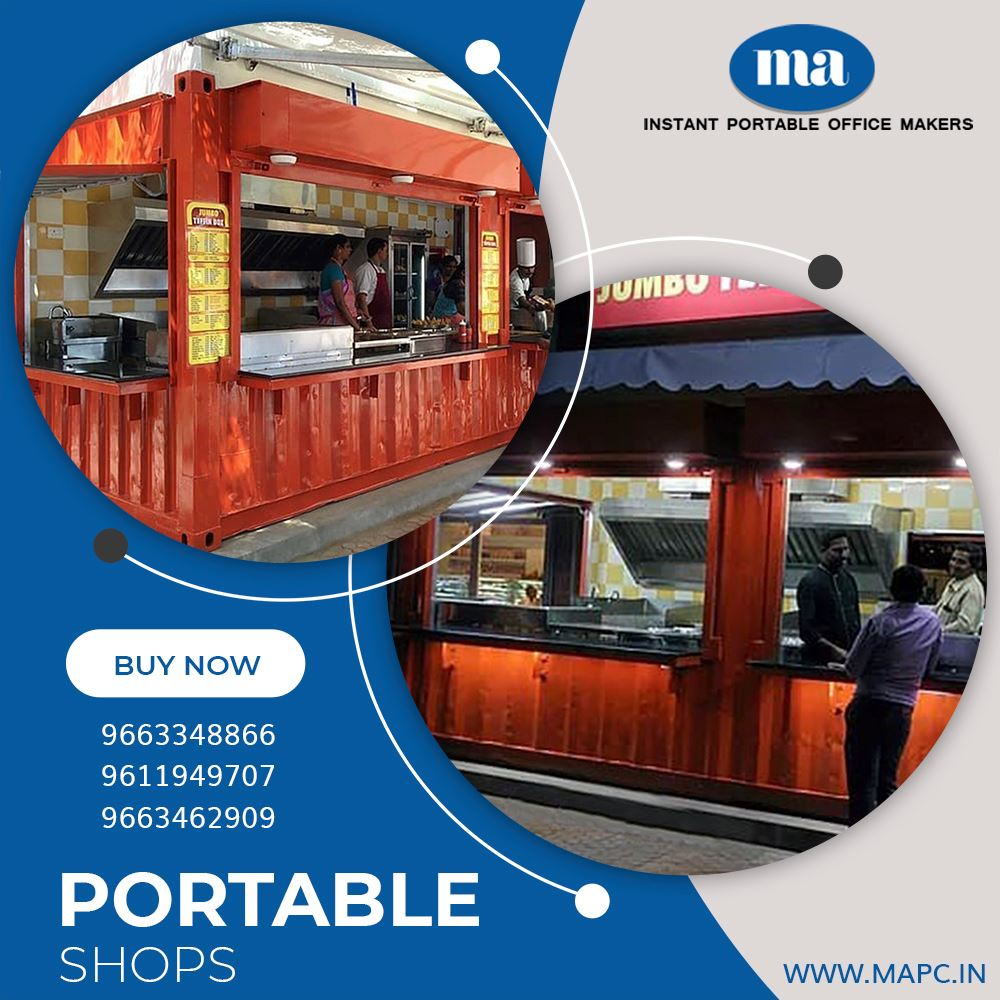 Portable Cabin Manufacturers |MA Portable Cabins India Pvt LTD.